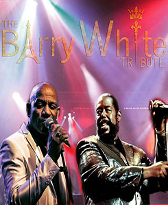 le TRIBUTE BARRY WHITE